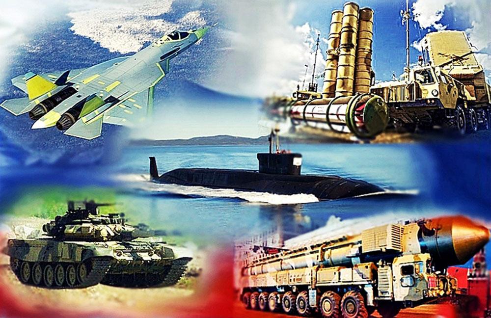 Современная и перспективная российская военная техника и зарубежная