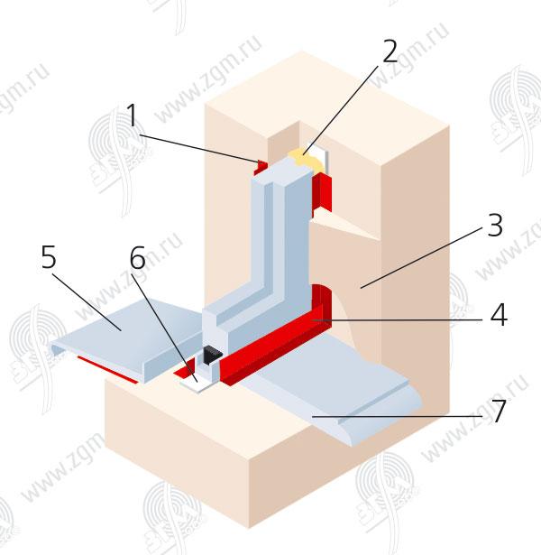 Шприц для заделки швов между плиткой